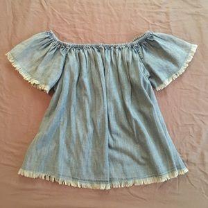 Dressy Denim Shirt